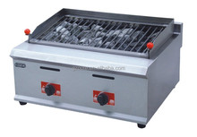 Commercial Kitchen Equipment Gas Lava Rock Grill
