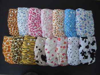 QQ baby cloth diaper