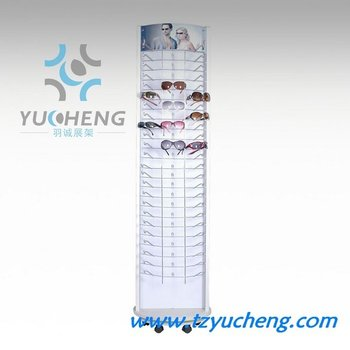 [YUCHENG]Y201 plexiglass sunglasses display floor stands