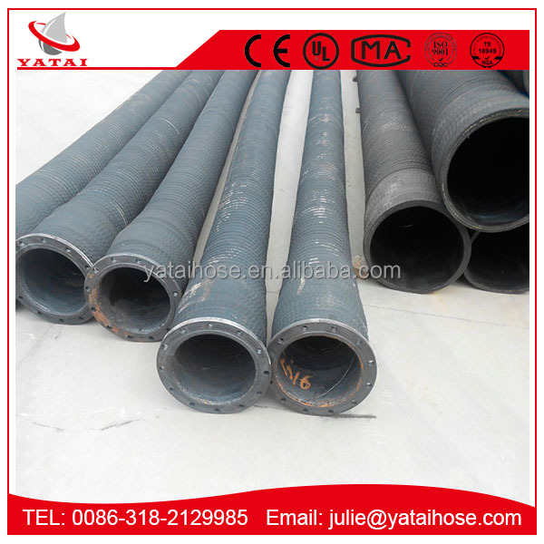 China Manufacture Dry Cement Rubber Water Jet Hose