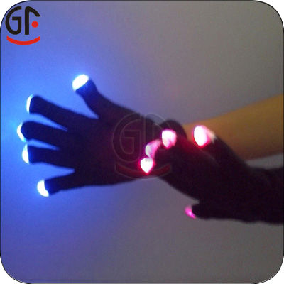 Hot Sale Now Developed Promotion Color Change Gloves For Halloween
