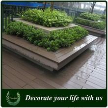 High strength anti-cracking wood plastic composite decking