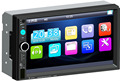 Car stereo Audio Keepfit Double 2 Din MP5 Bluetooth 1080P 7 Inch Car Stereo MP5 7023B