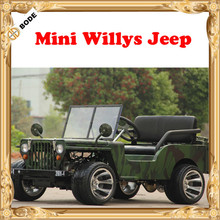 Off Road /On Road Tires Optional Mini Jeep Willys