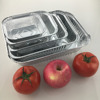 ODM, OEM heavy duty Rectangular disposable aluminum foil food packing container/plate/lunch box/large/BBQ grill tray