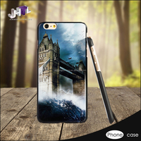 5 Inch beautiful ink printed Mobile Phone Back Cover