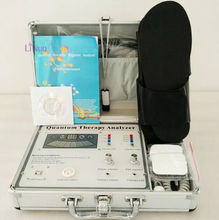 portable quantum body checking analyzer machine with therapy ,with slipper