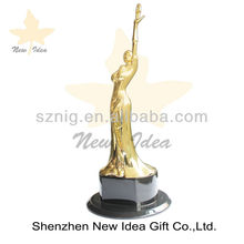 custom buy metal trophy cup parts and logo brand sales sport souvenir awards with permanent gold plating