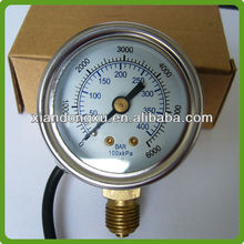BIGAS ECU Natural Gas Welding Pressure Gauge