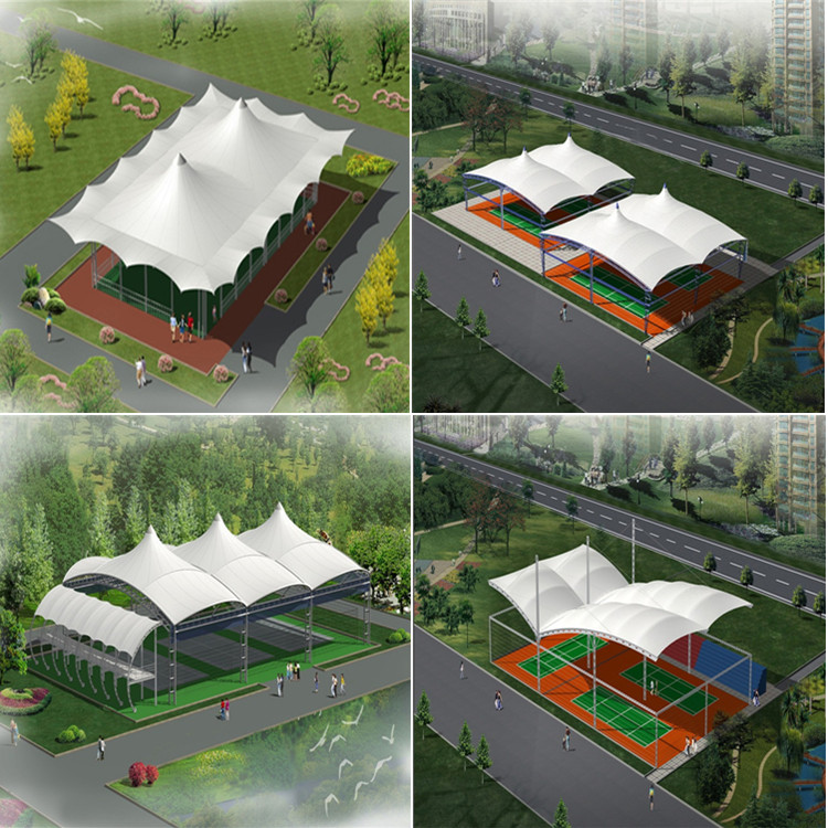 Prefabricated Magnificent Steel Structure Tent Glass Wall House For Sale