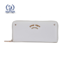 hot selling and high quality zipper walllet PU women wallets wholesale OEM wallet