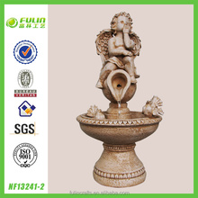 Waterfall Decorative Polyresin Angel handmade Fountain