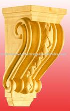 Famous Hand Carved Corbel Pattern, Decorative Wood Corbel