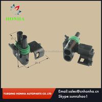 12015792 1.5MM delphi 2 Pin WAY WATERPROOF Vehicle ELECTRICAL WIRE CABLE CONNECTOR PLUG DJ3021-2.5-21