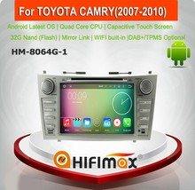 HIFIMAX android car pc for toyota camry navigation screen camry car dvd gps navigation system for toyota camry 2007 dashboard