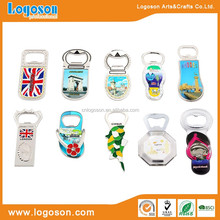 Souvenir Custom Metal Bottle Opener With Magnet