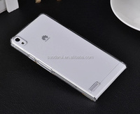 For Huawei Ascend P6 Crystal Hard Case PC Back Cover