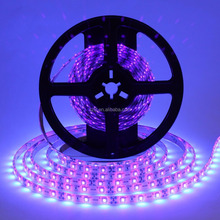 White PCB SMD3528 LED Light 365nm 395nm 405nm UV LED Flexible Strip