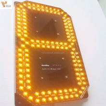 High quality 7 segment led display Wholesale Led Gas Price Sign /led Oil Price Sign For Petrol Station with