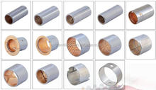 truck flange lubrication bimetal bushing copper brass bushing