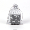 Sinicline Promotional mini organza drawstring bags for gifts