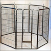 pet exercise training dog playpen Indoor outdoor heavy duty metal tube pen