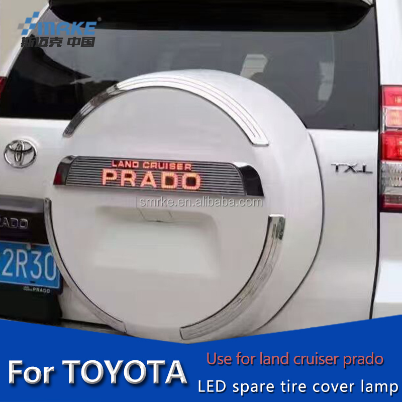 spare tire cover led light land cruiser prado toyota car accessories For land cruiser toyota spare tire led lamp