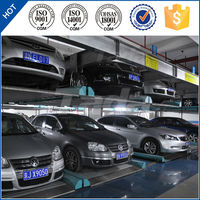 PSH two level puzzle automatic basement car stack parking system/parking solution