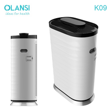 2018 Hot sale green air purifier ionizer with true hepa filter with DC motor