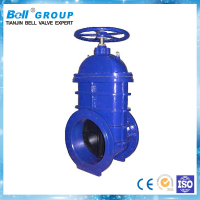 Big non rising stem 48 inch gate valve