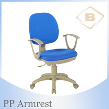 Pretty Fabric Computer Chair Secretary Chair Office Chair with PP Armrest