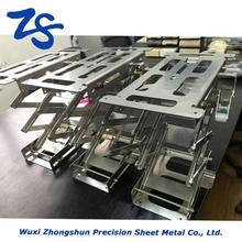 15mm thick welding fabrication, Elevator parts, aluminium laser cutting