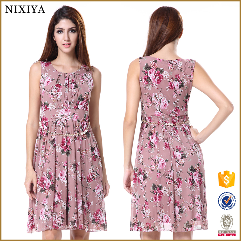 New Ladies Dress 2016 Wholesale Dress Women Bangkok Dress