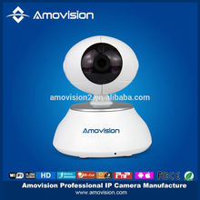 pan and tilt 1MP 720P 2 WAY Audio Support Night Vision Mini Robot Ball Wifi iP Camera.
