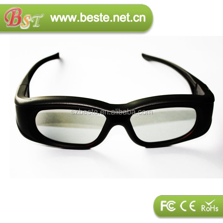 3d TV bluetooth active shutter 3d glasses