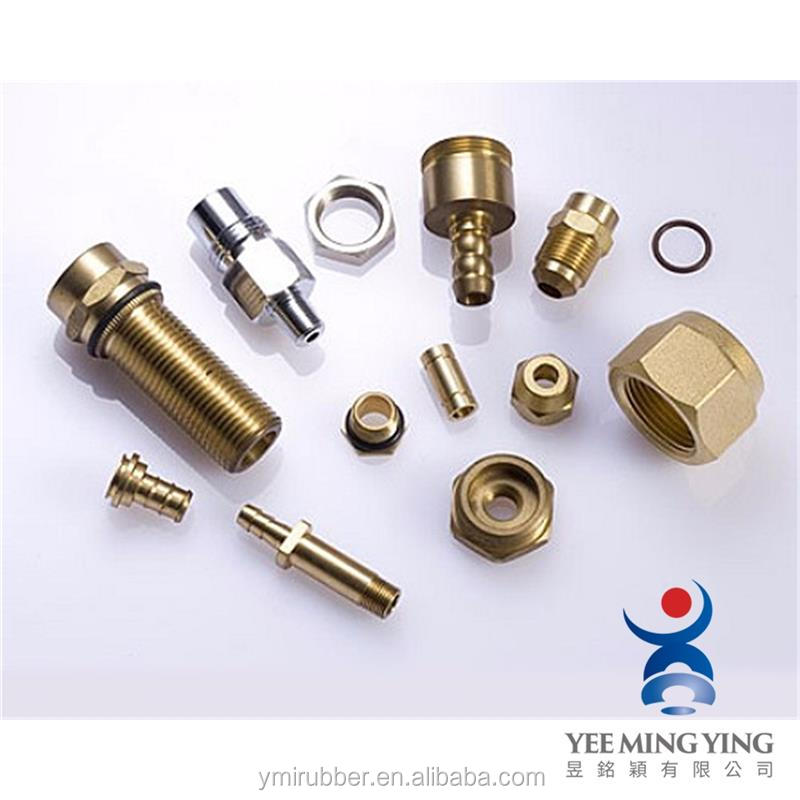 OEM metal fabrication cnc turning copper parts