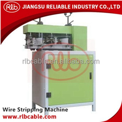 OBS120 Cable stripping peeling machine for scrap waster wire and cable and armoured cable