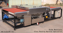 FoShan Machine !!HeyMa Glass washing Machine 1800mm horizontal glass dry cleaning machine