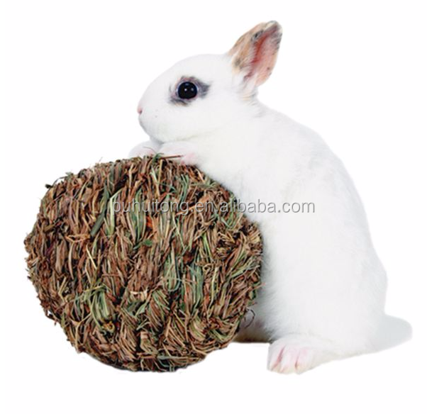 Small Animal Woven Grass Play Ball