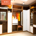 Manufacturer wholesale swing door wooden modern bedroom wardrobe cabinets hotel closet