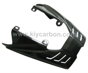 Carbon fiber motorcycle exhaust cover for Triumph Daytona 675
