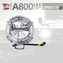 2017 new style 7 inch car led projector headlight round led running light