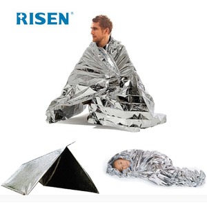 Mylar Survival Rescue Blanket,Space Blanket Emergency Blanket