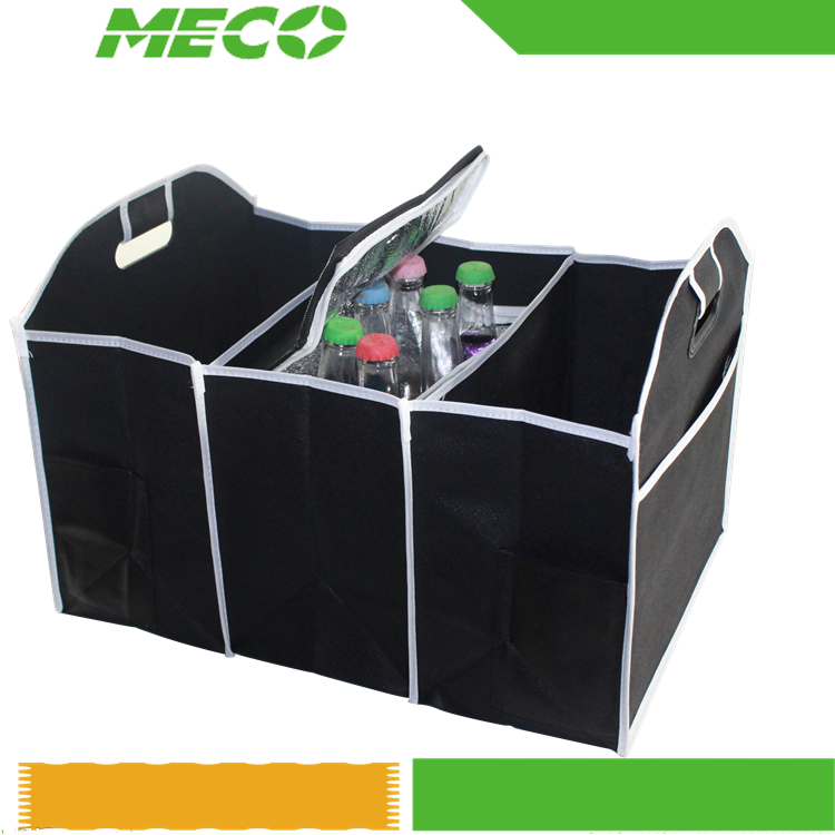 Folding Car Back Storage Box Multi-Use Backseat Car Trunk Organizer