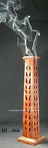 wooden incense stick burners tower- indian incence stick burners