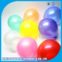 Led party balloon printable fly helium latex balloon biodegradable Confetti balloon