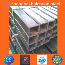 big wall thickness hot galvanized gi support square pipe