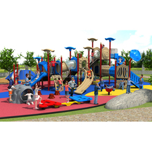 Plastic Outdoor Luna Leisure Fun Commercial Play Attraction Vasia Playground Used Kids Children Amusement Park Equipment
