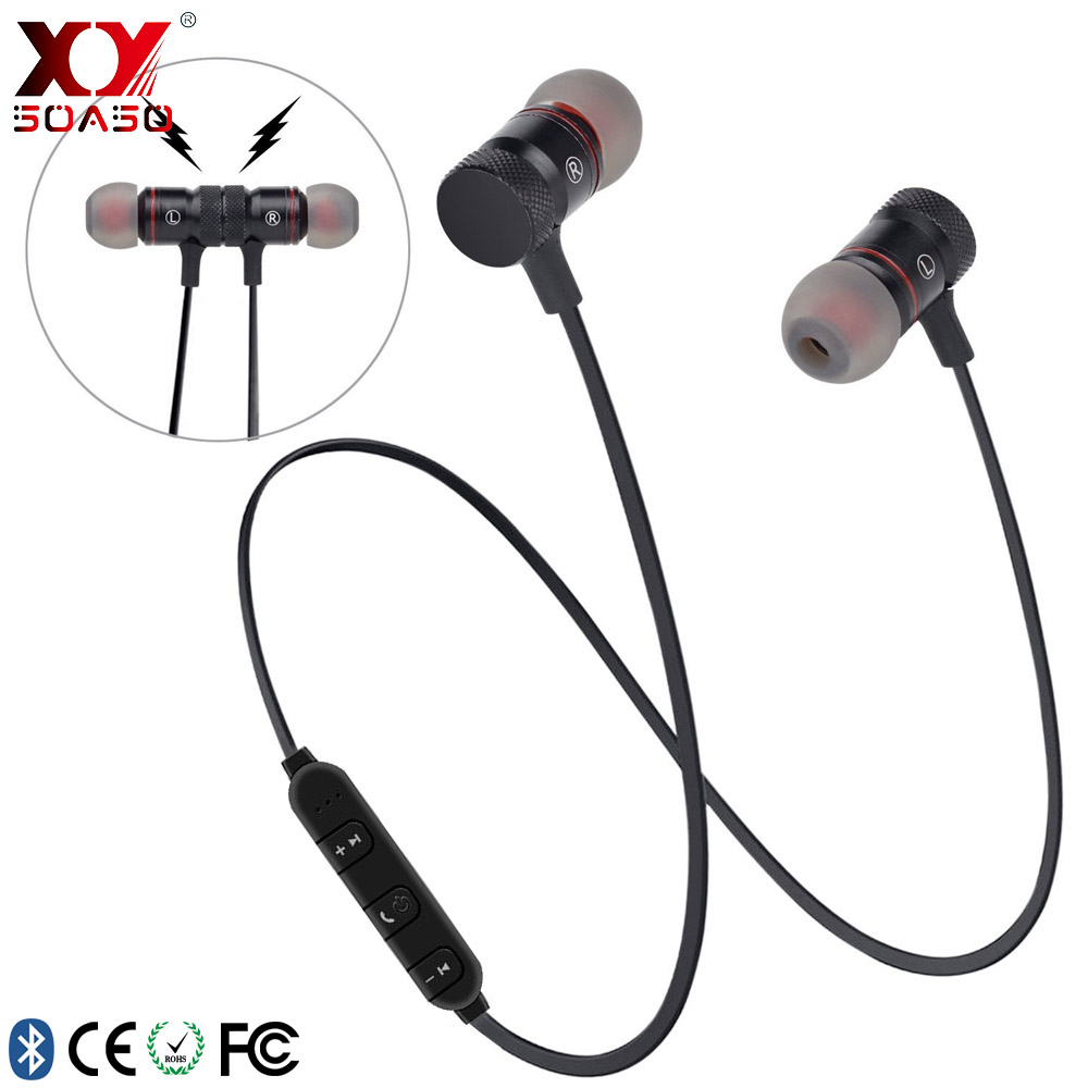Bluetooth Headsets Newest Portable Stereo Bluetooth Headset Handsfree Sports Wireless Bluetooth Headphones For Phone PC Laptop