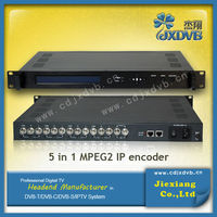 Broadcasting Digital MPEG-2 SD H.264 IPTV Encoder/IPTV Encoder